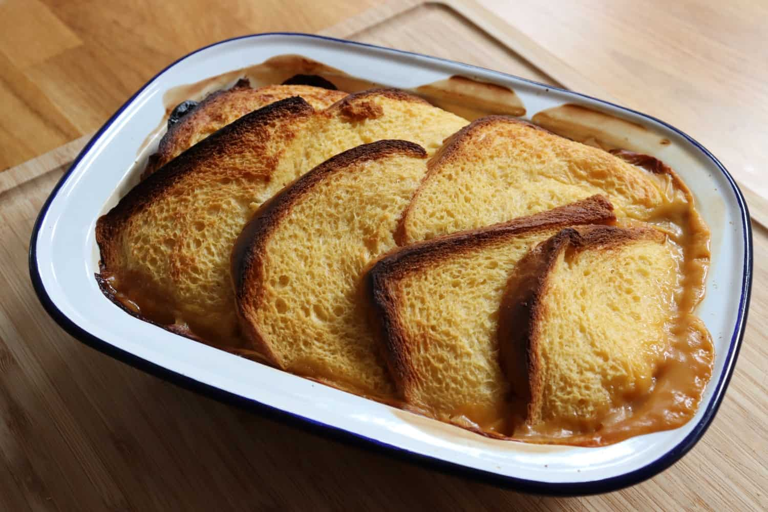 Cheats Mincemeat Bread and Butter Pudding Recipe