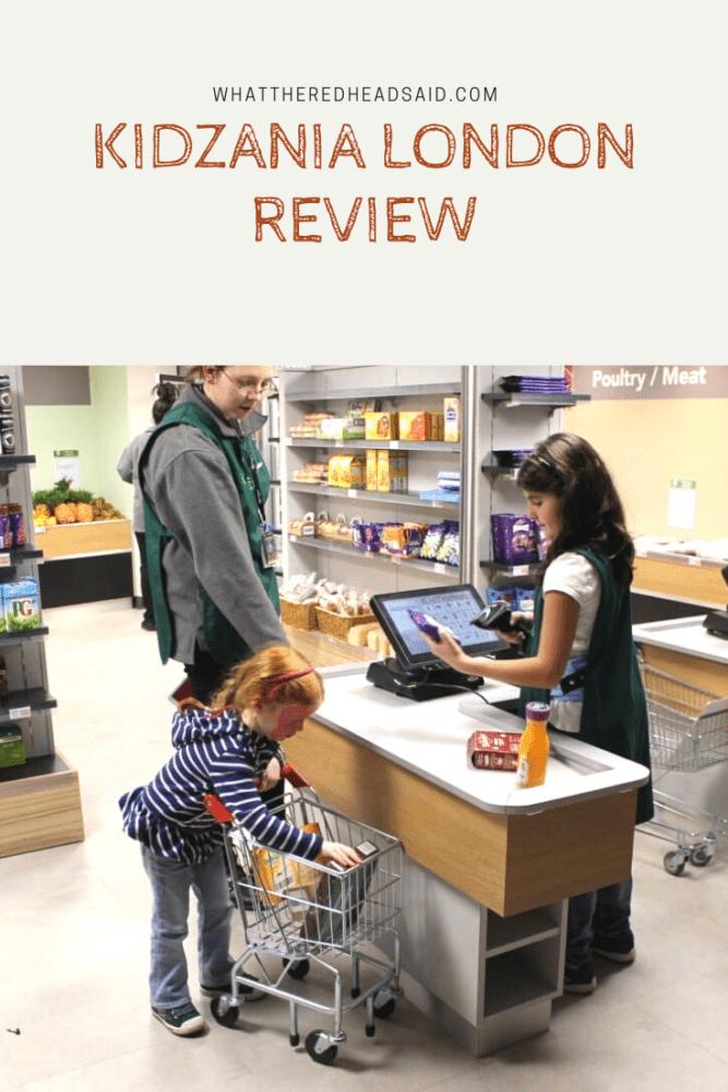 Kidzania London Review