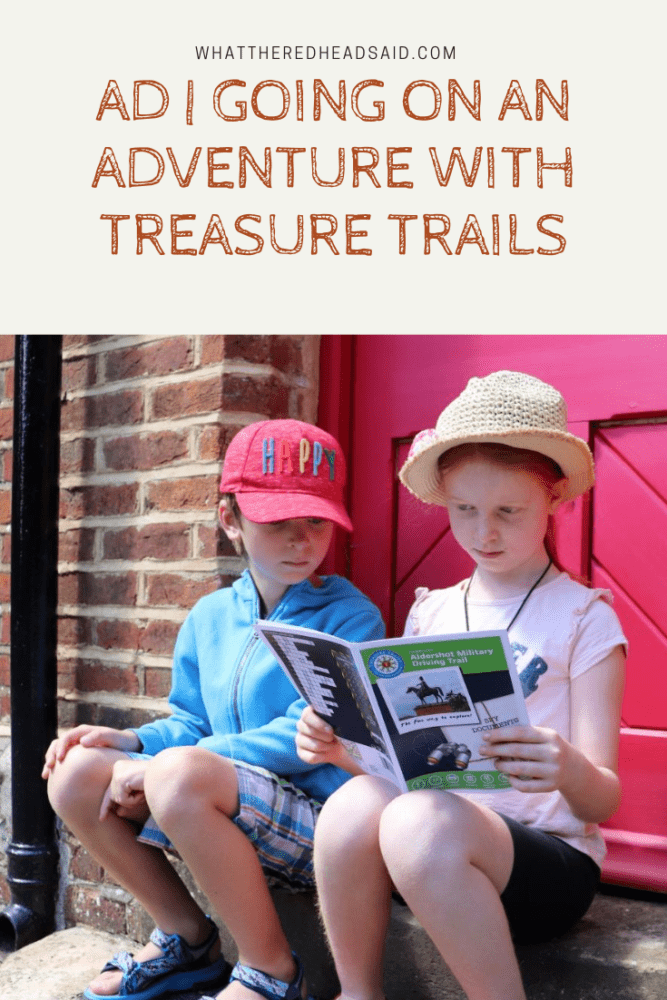 Going on an Adventure with Treasure Trails | AD