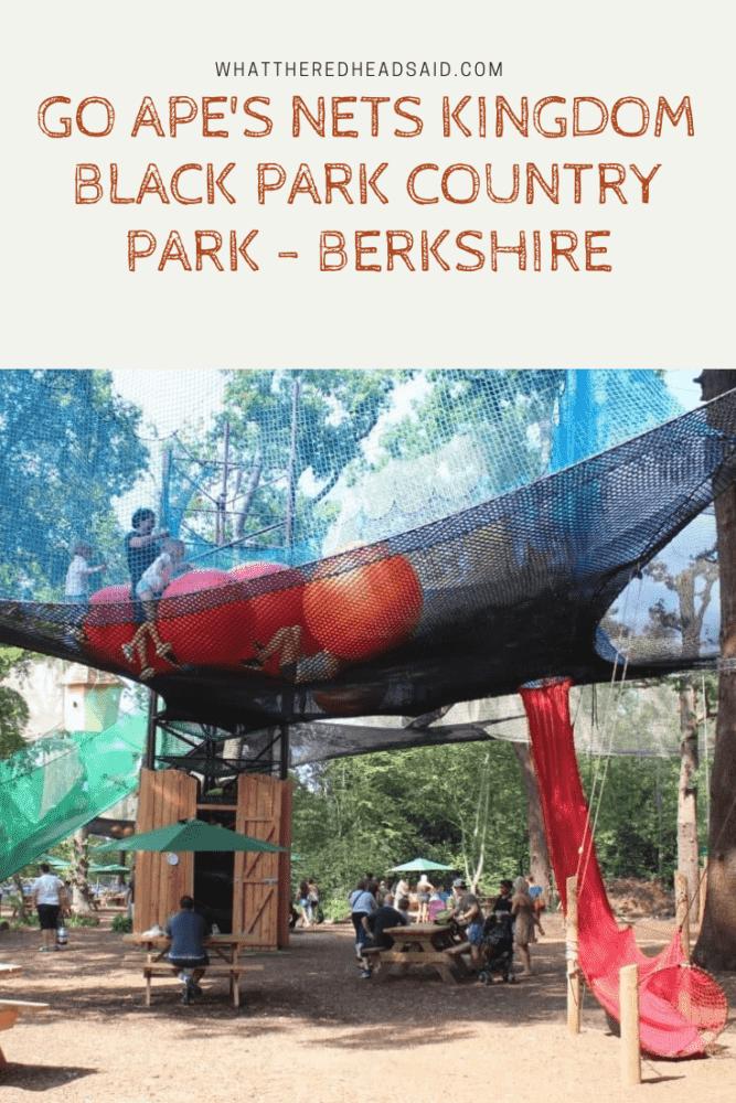 Go Ape's Nets Kingdom - Black Park Country Park