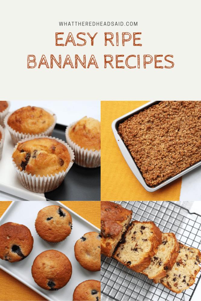 Easy Ripe Banana Recipes