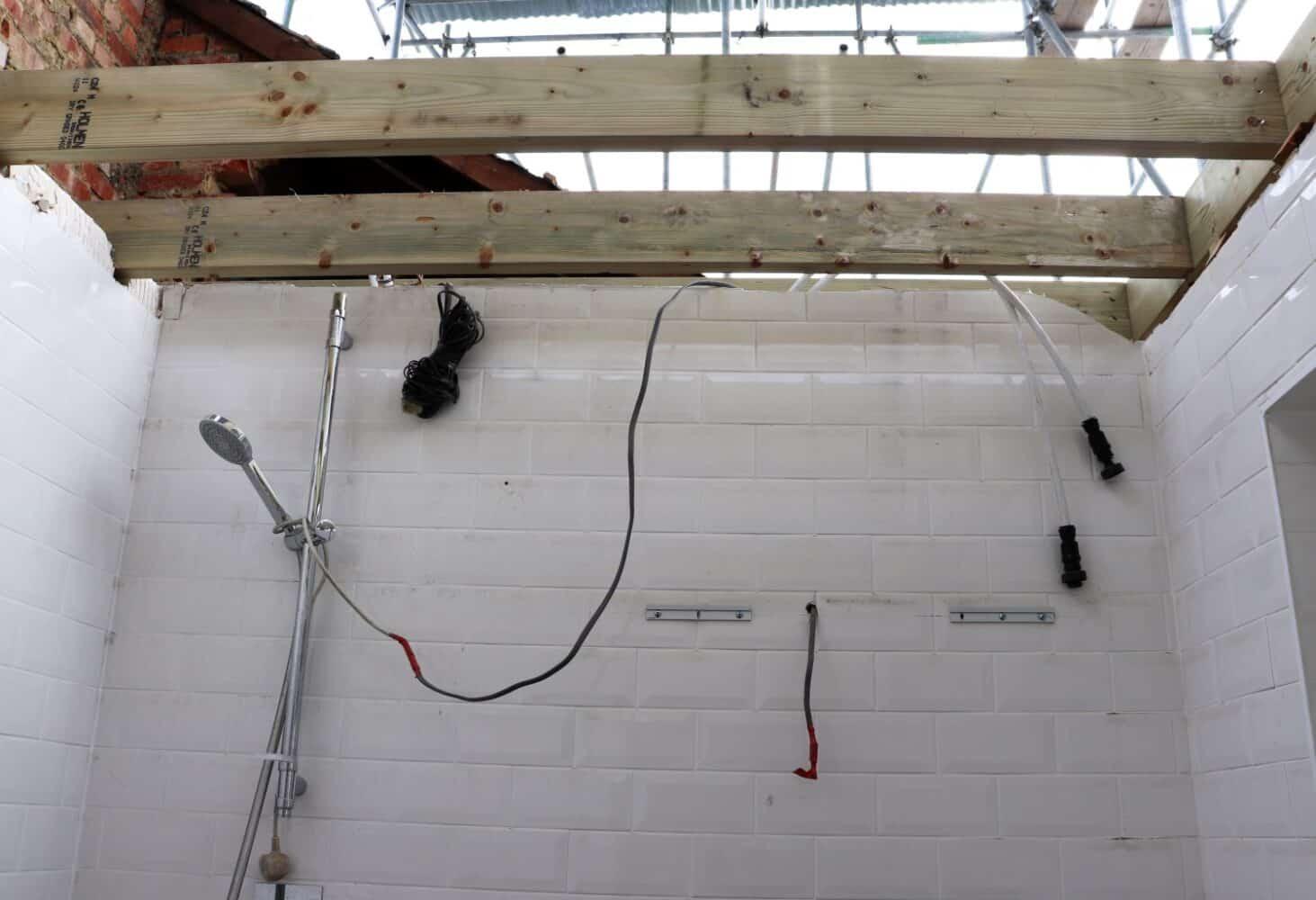 Lowering Our First Floor Ceilings