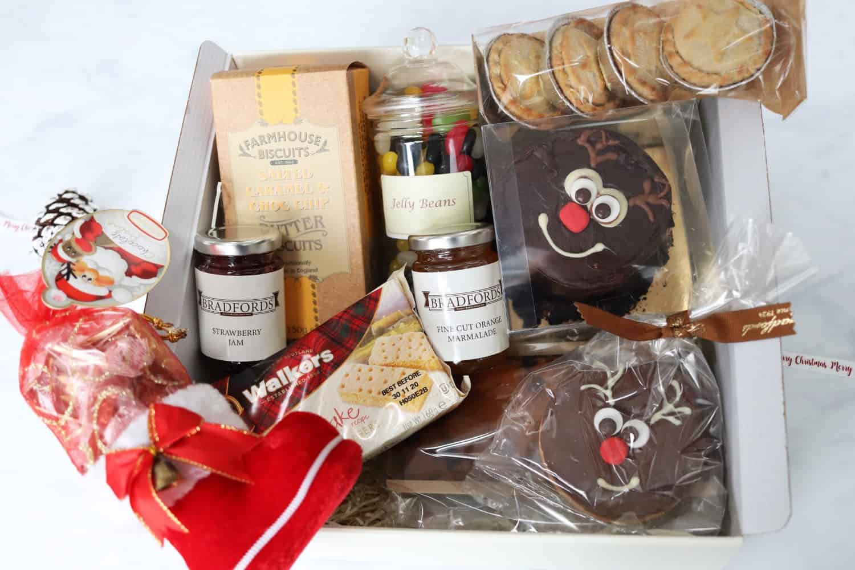 Bradfords Bakers Rudolph Christmas Gift Box