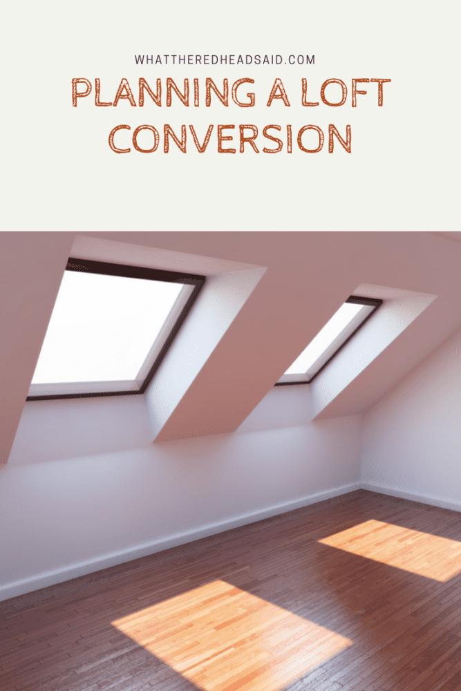 Planning A Loft Conversion