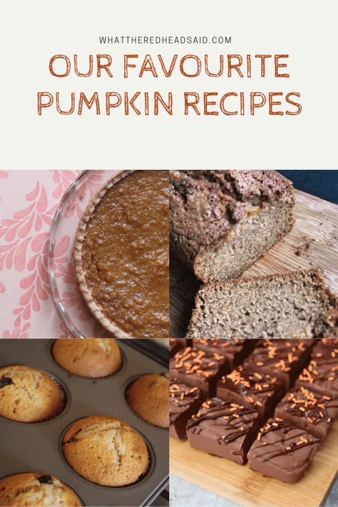 Our Favourite Pumpkin Recipes