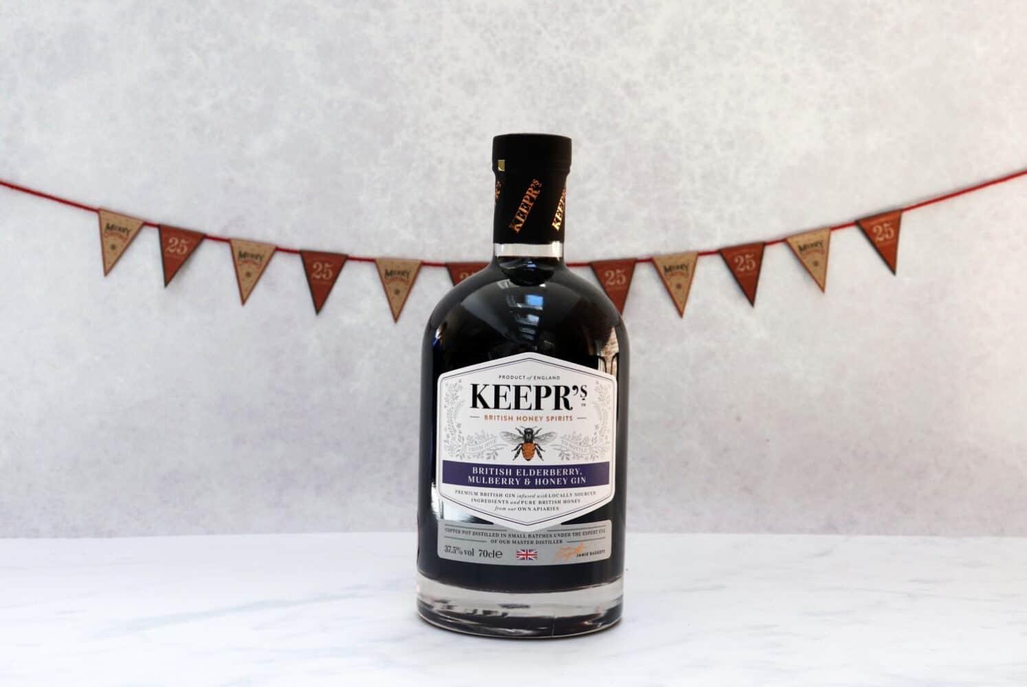 Keepr's British Elderberry, Mulberry and Honey Gin