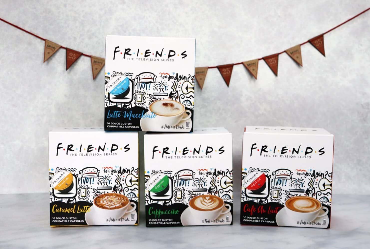 Friends coffee capsules