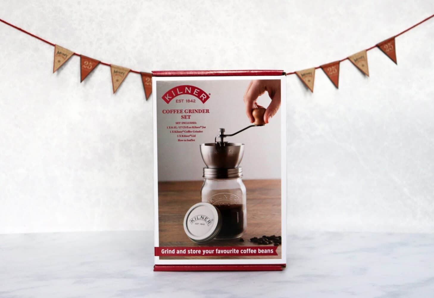 Kilner Coffee Grinder Set