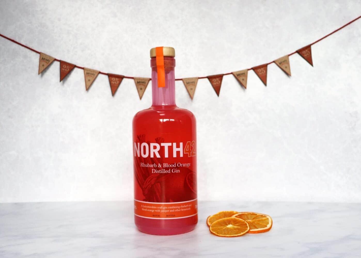 North42 Rhubarb & Blood Orange Gin