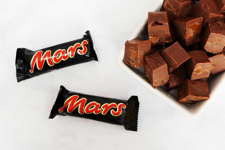 Mars Bar Fudge