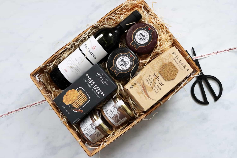Hampers.com Christmas Wine, Cheese & Pate Hamper