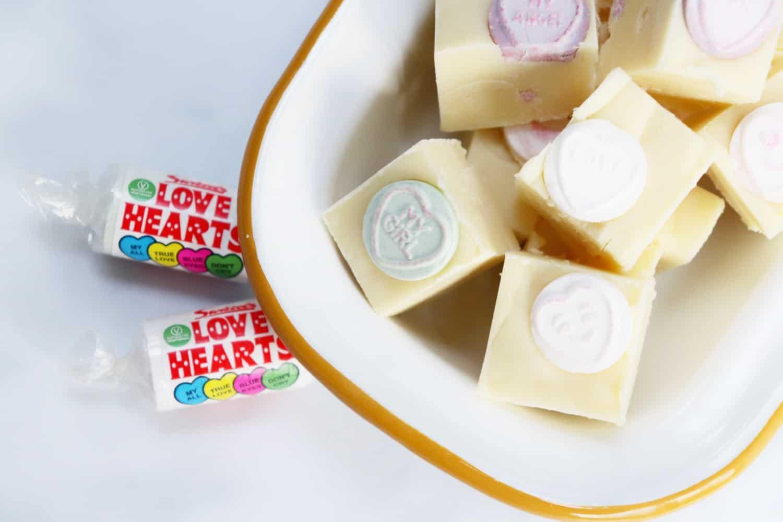 Love Hearts Fudge