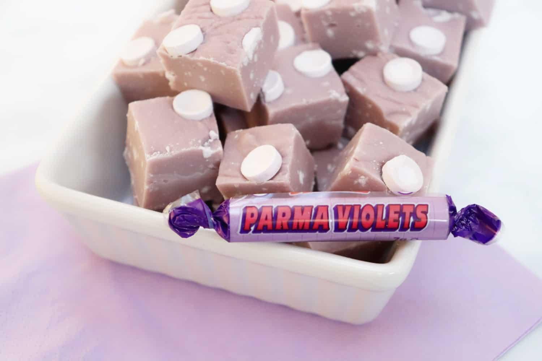 Parma Violets Fudge