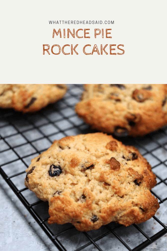 Mince Pie Rock Cakes