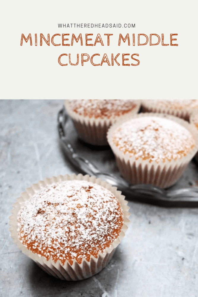 Mincemeat Middle Cupcakes