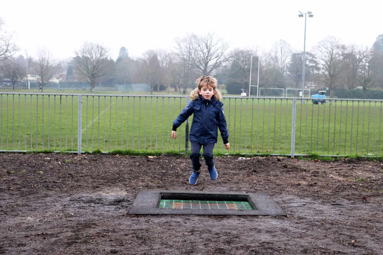 The New Watchetts Recreation Ground Playground - Camberley