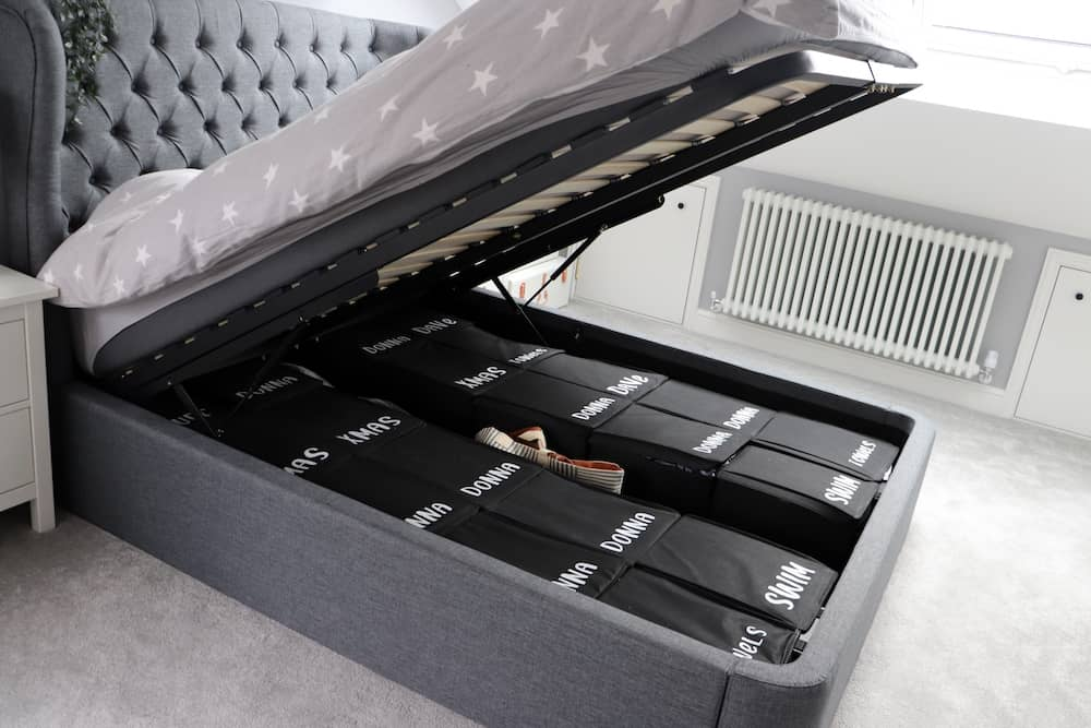 How to Organise Ottoman Bed Storage