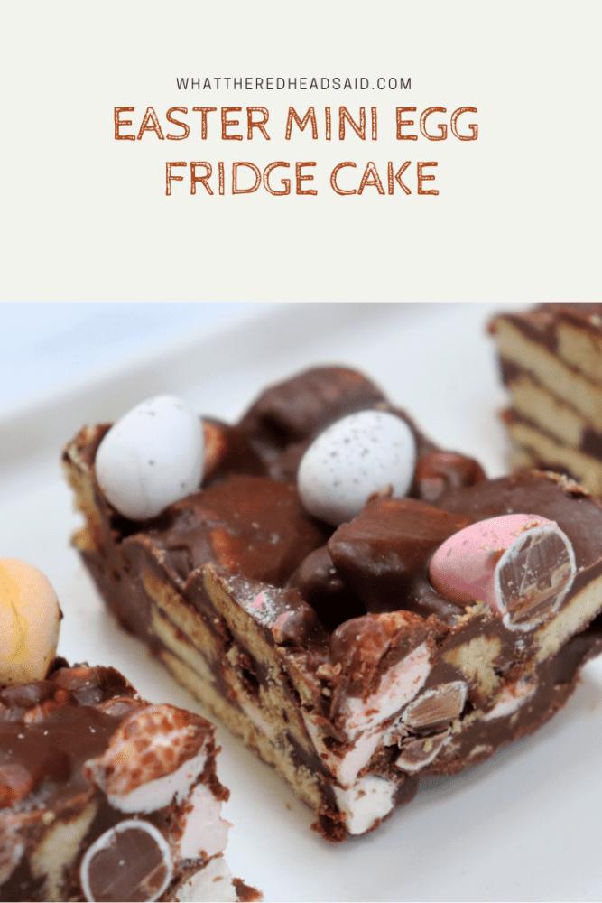 Easter Mini Egg Fridge Cake