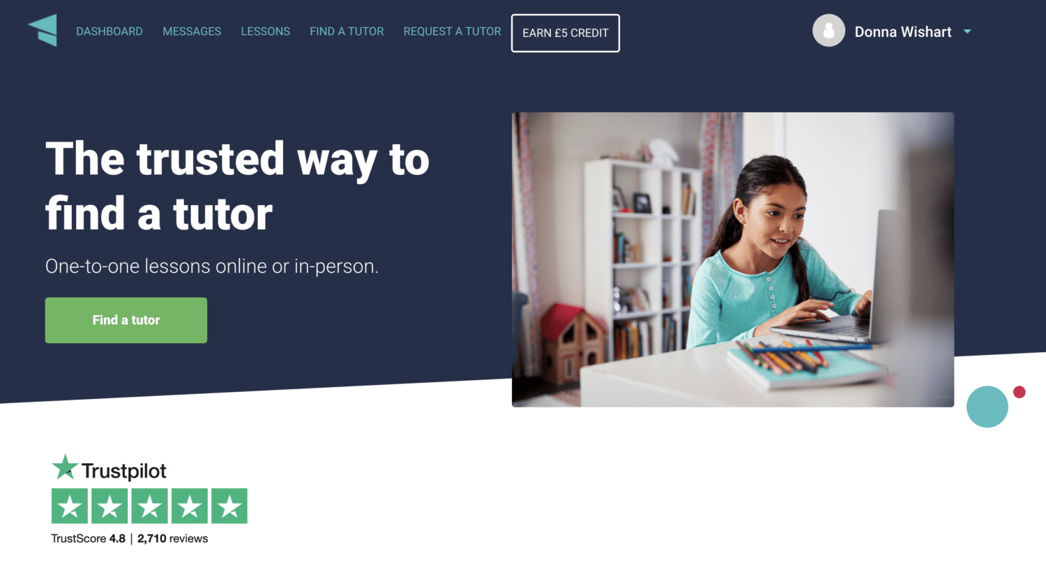 Find Online Personal Tutors with Tutorful
