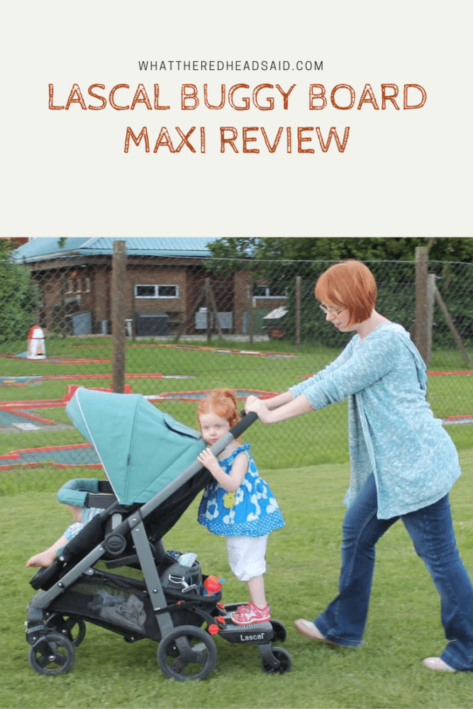 Lascal Buggy Board Maxi Review