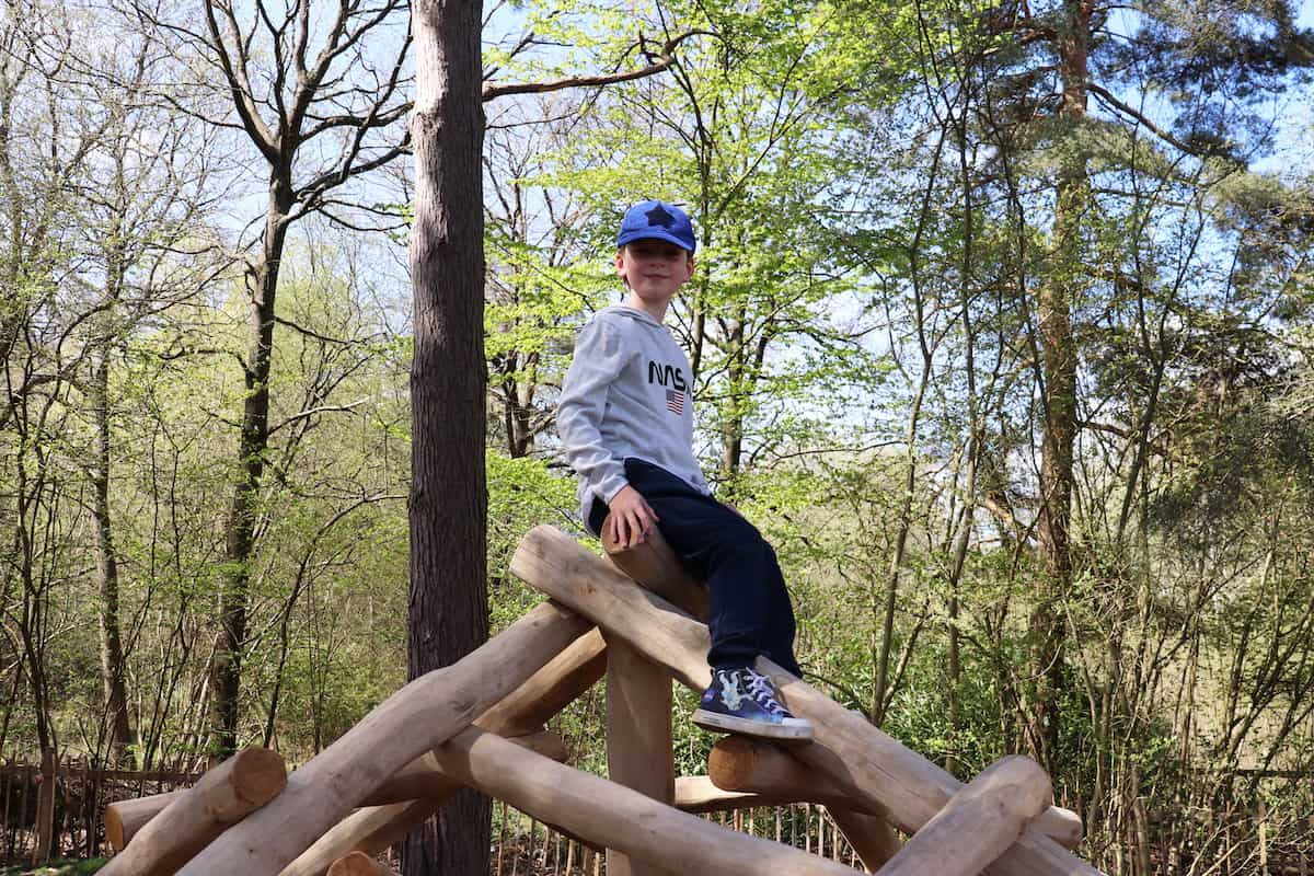 Enjoying California Country Park - and the New Play Area!