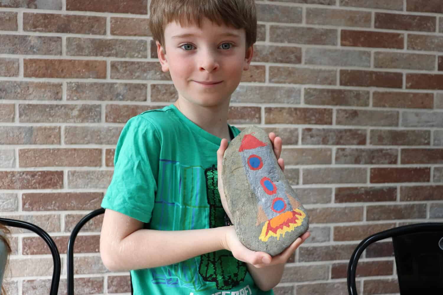 Rock Painting with Chalkola