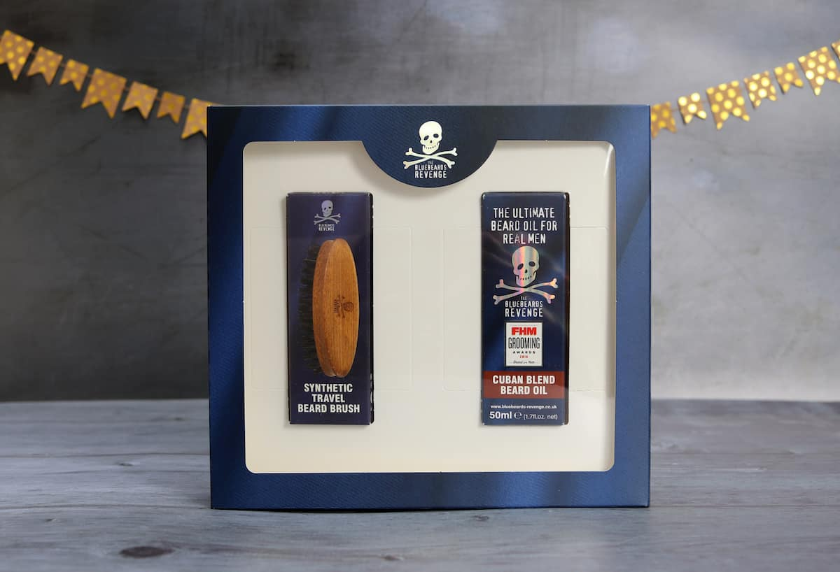 Fathers Day Gift Guide - Bluebeards Revenge Essential Beard Care Gift Set