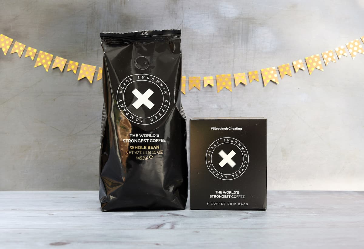 Father's Day Gift Guide - Black Insomnia Coffee