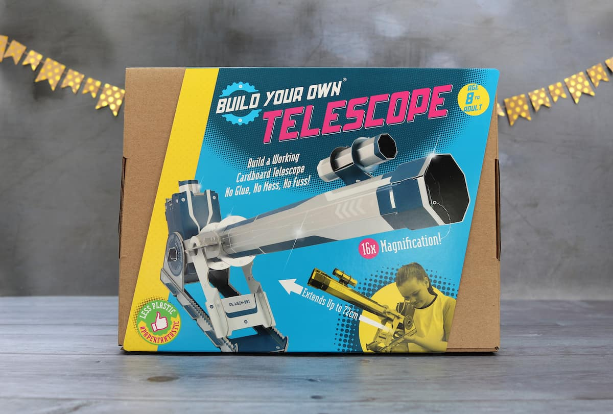 Fathers Day Gift Guide - Build Your Own Telescope