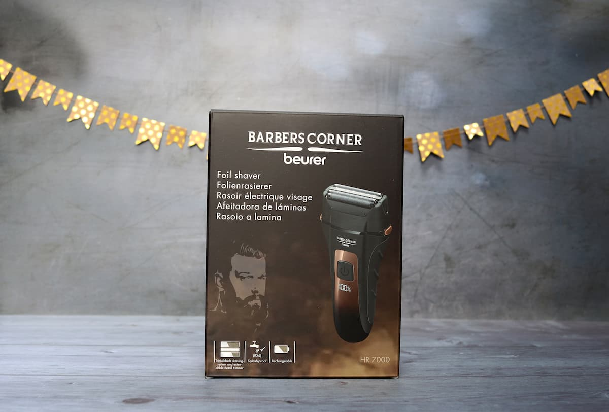 Fathers Day Gift Guide - Beurer Barbers Corner