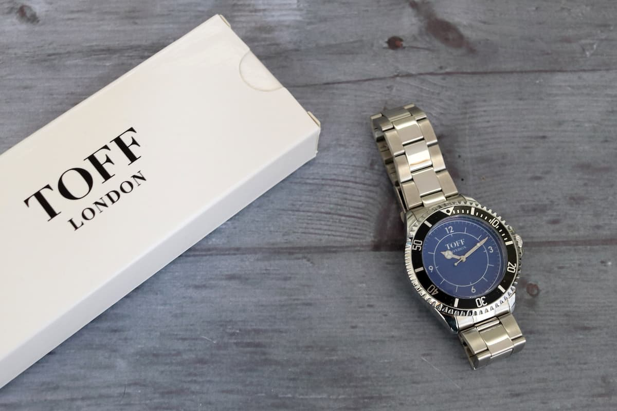 Fathers Day Gift Guide - Toff London Watch