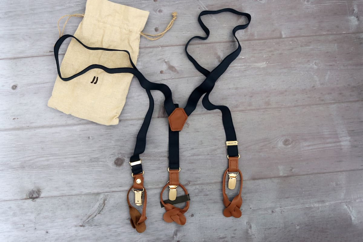 Fathers Day Gift Guide - JJ Suspenders