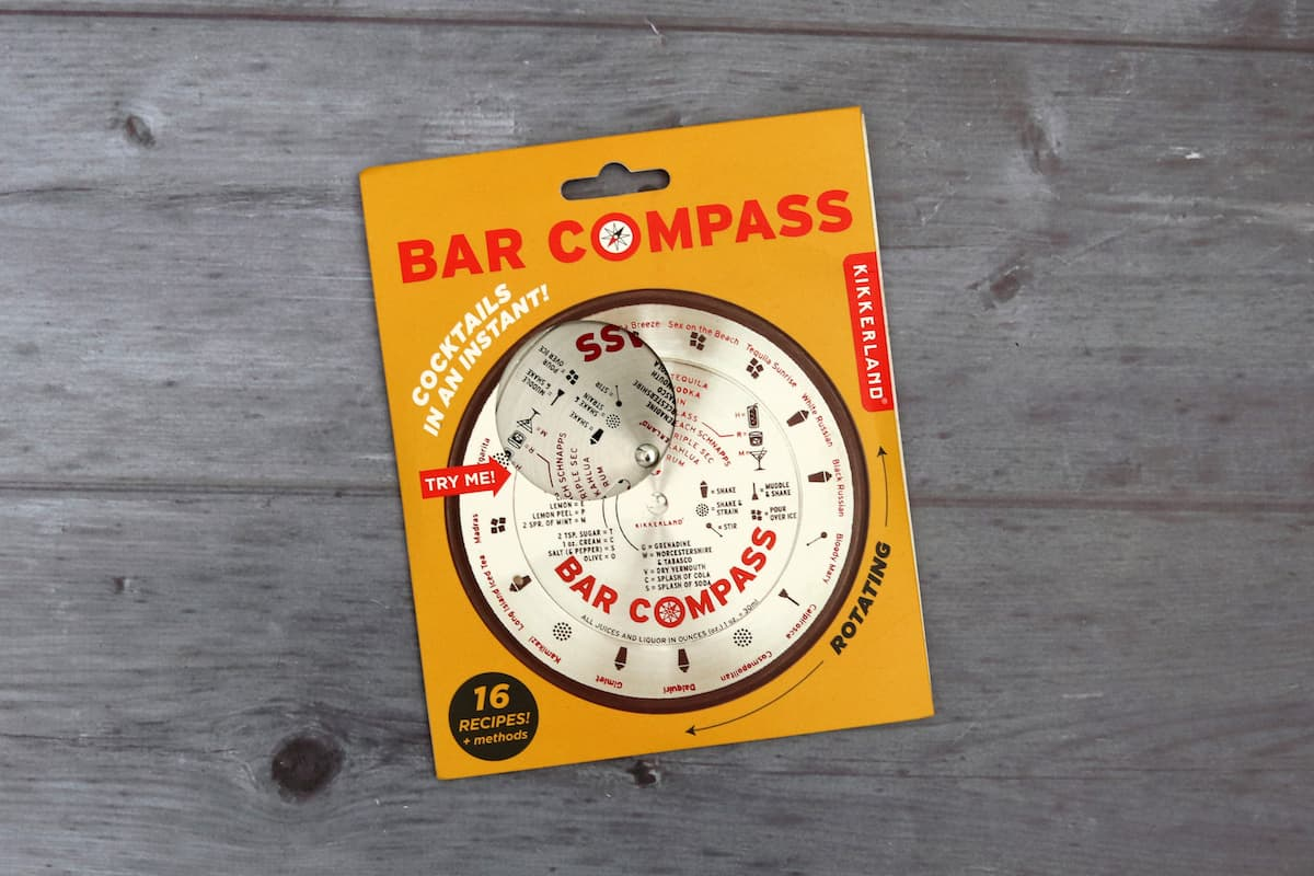 Father's Day Gift Guide - Bar Compass