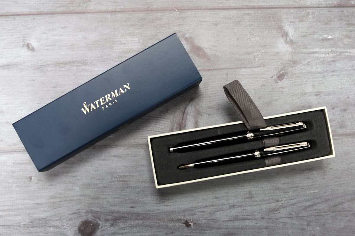 Fathers Day Gift Guide - Waterman Pen Set