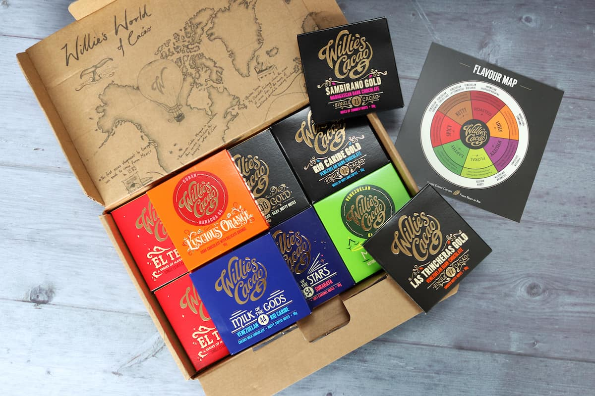 Father's Day Gift Guide - Willie's Cacao Chocolate Tasting Box