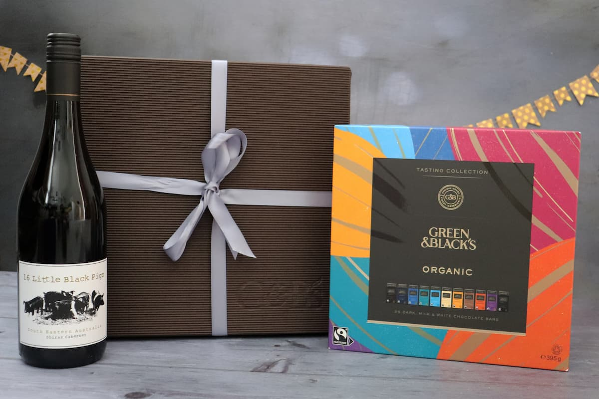 Organic Tasting Collection and Red Wine gift pack