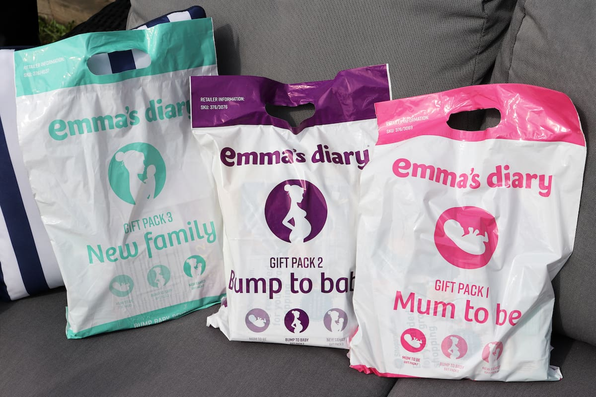 Get Free Baby Stuff with Emma's Diary Gift Packs!