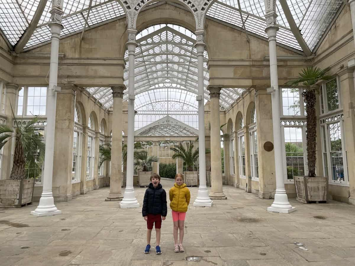 A Rainy Day at Syon Park - Middlesex