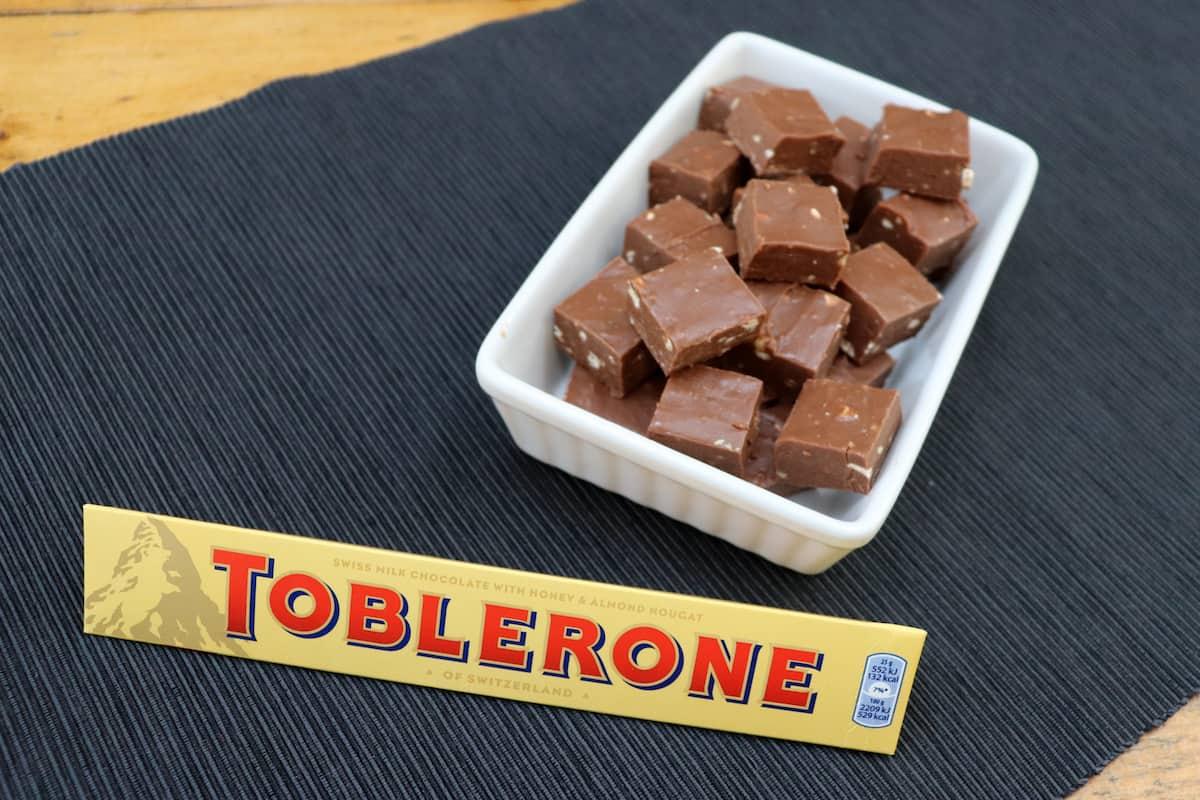 Toblerone Fudge