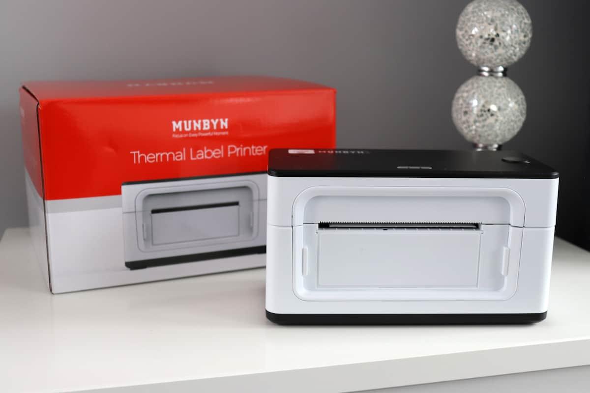 MUNBYN Thermal Label Printer Review