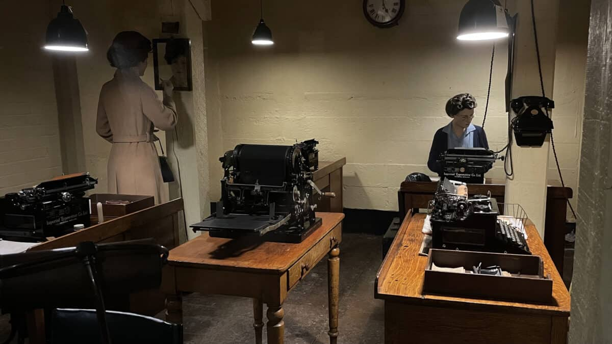 A Visit to the Churchill War Rooms