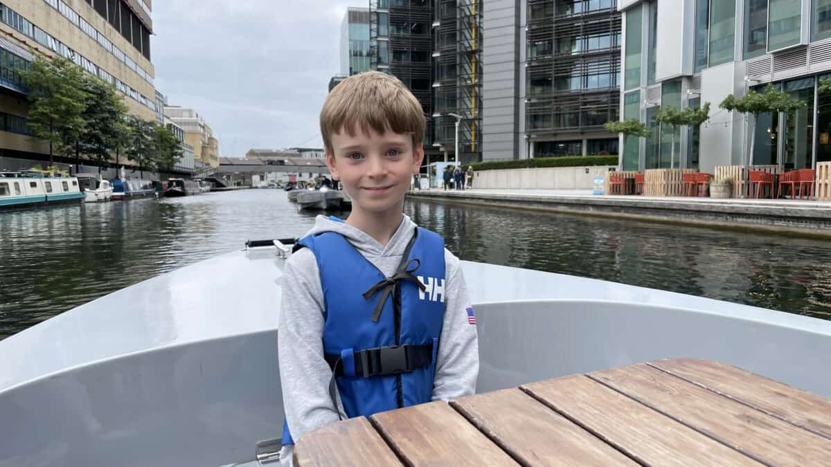 A GoBoat Adventure on the Regents Canal