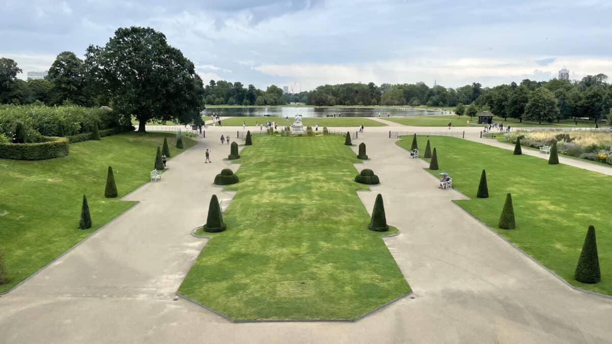Visiting Kensington Palace