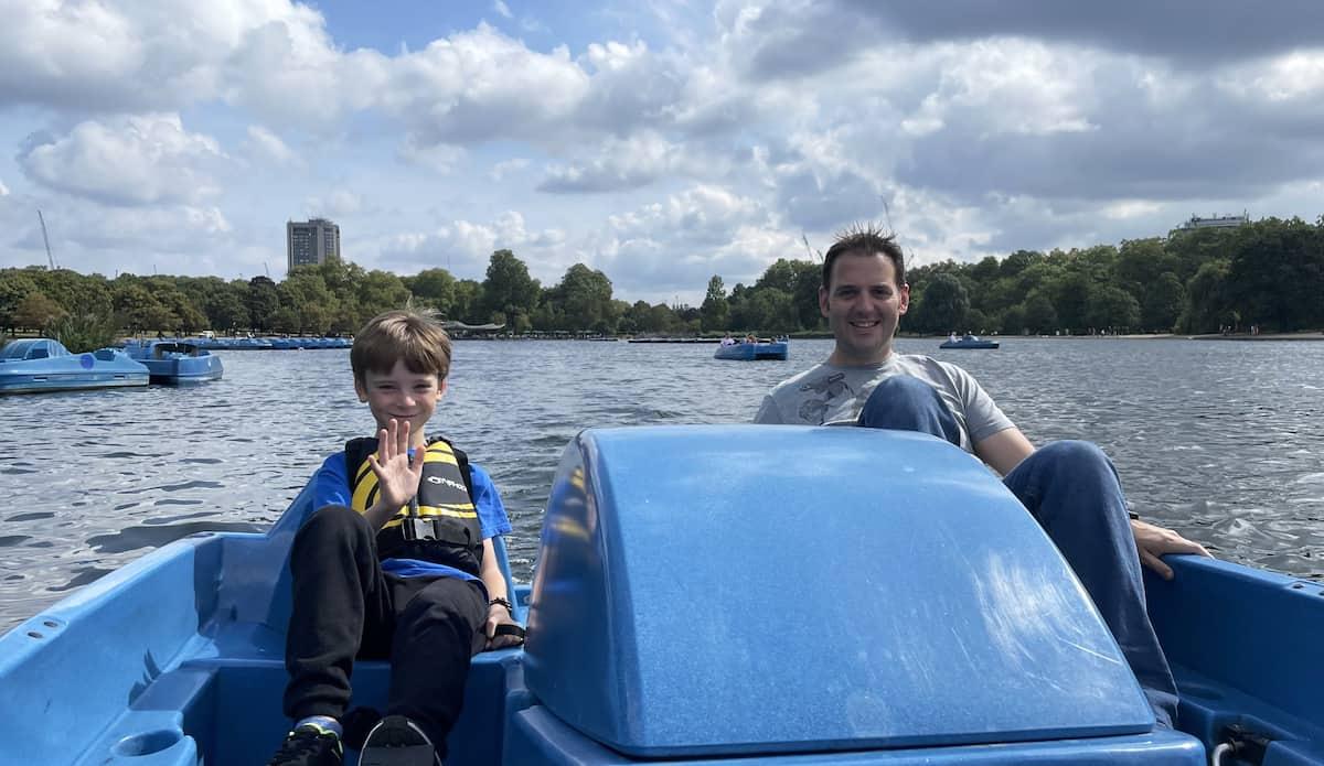 Bluebird Boats Pedalo Hire – Hyde Park, London