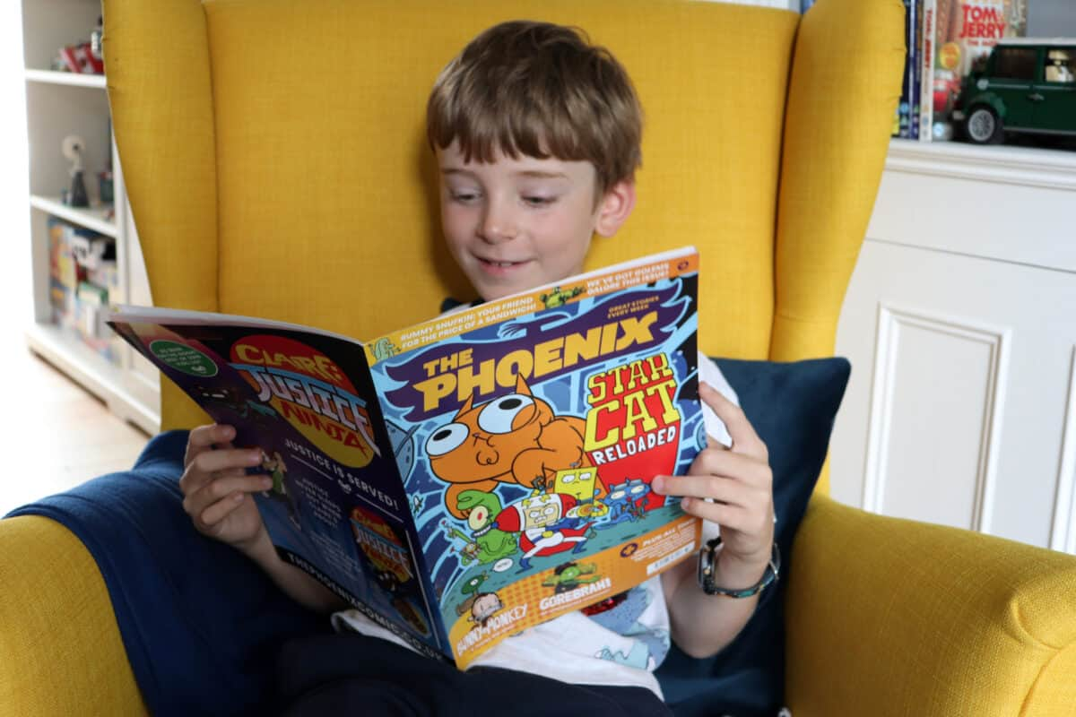 Back to School with The Phoenix – Review and Giveaway!