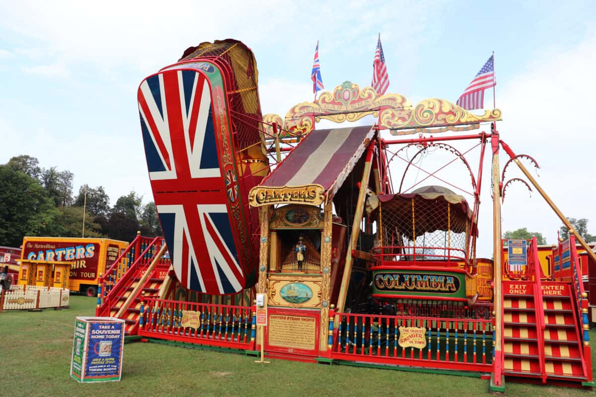 A Lovely Day at Carters Steam Fair
