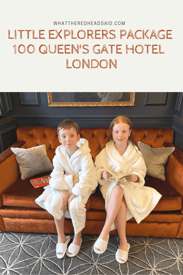 Little Explorers Package at 100 Queen's Gate Hotel - London