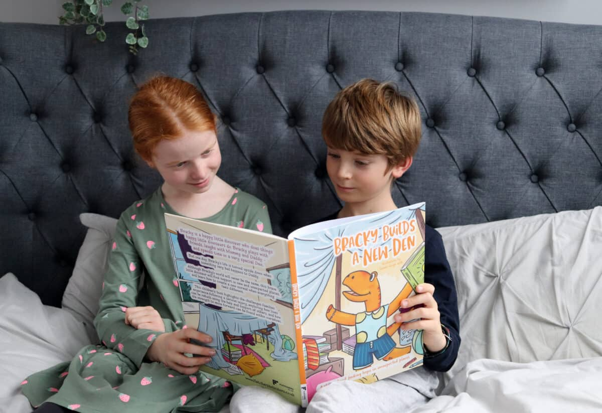 Help Children to Cope with Change with Bracky Builds A New Den   AD